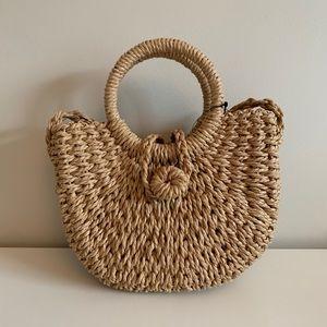 Woven Straw Style Mini Bag